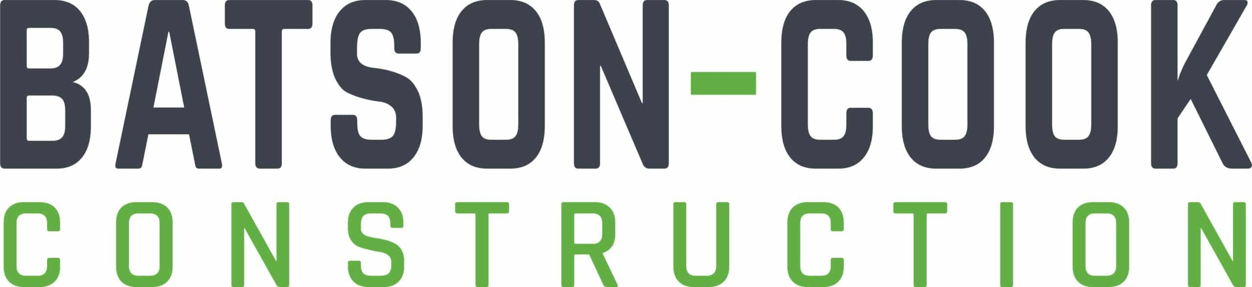 Batson Cook Logo Charcoal And Green